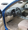 toyota highlander 2008 blue suv base gasoline 6 cylinders front wheel drive automatic 55448