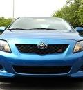 toyota corolla 2010 blue sedan s gasoline 4 cylinders front wheel drive automatic 20746