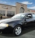 audi a6 2001 black sedan 2 7t quattro gasoline 6 cylinders all whee drive automatic 60915