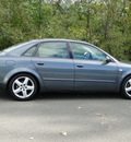 audi a4 2002 dk  gray sedan 1 8t quattro gasoline 4 cylinders all whee drive 5 speed manual 98226