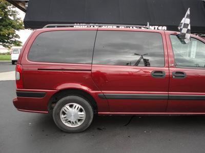 chevrolet venture 1999 red van ls gasoline v6 front wheel drive automatic 45005