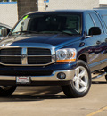 dodge ram 1500 2006 patriot blue metall pickup truck slt gasoline 8 cylinders rear wheel drive automatic 62034