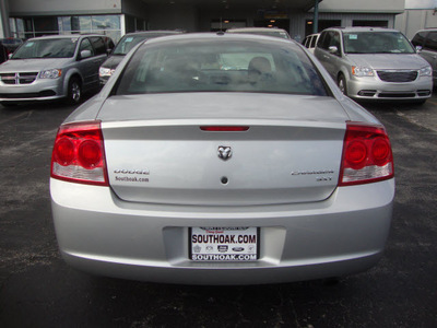 dodge charger 2010 silver sedan sxt gasoline 6 cylinders rear wheel drive automatic 60443