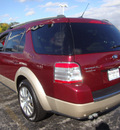 ford taurus x 2008 dk  red suv eddie bauer gasoline 6 cylinders all whee drive automatic 60443