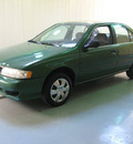 nissan sentra 1998 green sedan gxe gasoline 4 cylinders front wheel drive 5 speed manual 44883
