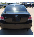 honda accord 2010 black sedan lx gasoline 4 cylinders front wheel drive automatic 77065