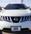 nissan murano 2009 off white suv sl gasoline 6 cylinders front wheel drive automatic with overdrive 76018