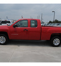 chevrolet silverado 1500 2011 red pickup truck work truck gasoline 6 cylinders 2 wheel drive automatic 77090