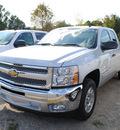 chevrolet silverado 1500 2012 silver pickup truck lt flex fuel 8 cylinders 2 wheel drive automatic 27591
