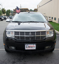lincoln mkx 2008 black suv nav,elite,moon,thx,chrome gasoline 6 cylinders all whee drive automatic 07012