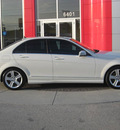 mercedes benz c300 2010 white sedan gasoline 6 cylinders rear wheel drive automatic 33884