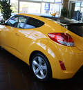 hyundai veloster 2012 yellow coupe m t gasoline 4 cylinders front wheel drive 6 speed manual 94010