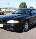 ford mustang 1998 black coupe gasoline v6 rear wheel drive 5 speed manual 80229