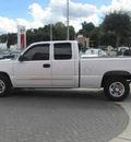 chevrolet silverado 1500 2004 white pickup truck ls gasoline 8 cylinders rear wheel drive automatic 33884