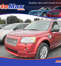 land rover lr2 2009 red suv hse gasoline 6 cylinders all whee drive automatic 34474