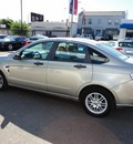 ford focus 2008 gray sedan se gasoline 4 cylinders front wheel drive 90004