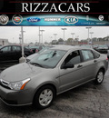 ford focus 2008 gray sedan gasoline 4 cylinders front wheel drive automatic with overdrive 60546