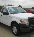 ford f 150 2011 white xl flex fuel 6 cylinders 2 wheel drive 6 speed automatic 62863