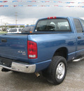 dodge ram pickup 2500 2004 blue st gasoline 8 cylinders 4 wheel drive automatic 62863