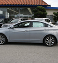 hyundai sonata 2012 lt  blue sedan se gasoline 4 cylinders front wheel drive automatic 94010