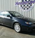 subaru impreza 2010 dark gray sedan 2 5i premium gasoline 4 cylinders all whee drive automatic 80905