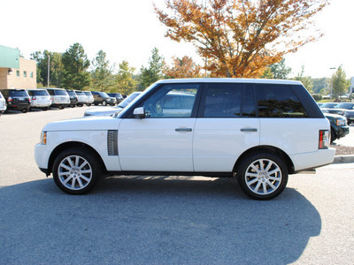 range rover range rover 2011 white suv supercharged gasoline 8 cylinders 4 wheel drive automatic 27511