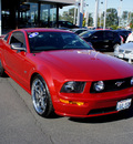 ford mustang 2008 dk  red coupe gt premium gasoline 8 cylinders rear wheel drive automatic 98371