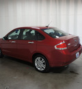 ford focus 2010 red sedan sel gasoline 4 cylinders front wheel drive automatic 76108