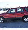 ford escape 2005 dk  red suv xls gasoline 4 cylinders front wheel drive automatic 77388