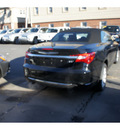 chrysler 200 convertible 2011 black touring flex fuel 6 cylinders front wheel drive automatic with overdrive 08844