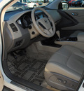 nissan murano 2009 off white suv le awd gasoline 6 cylinders all whee drive automatic 75228