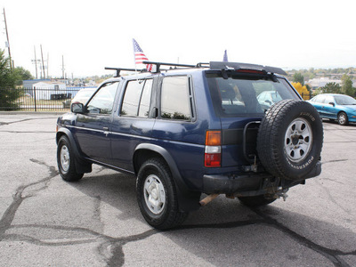 nissan pathfinder 1995 blue suv gasoline v6 4 wheel drive 5 speed manual 80229