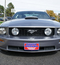 ford mustang 2007 dk  gray coupe gt premium gasoline 8 cylinders rear wheel drive 5 speed manual 80012