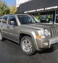 jeep patriot 2007 beige suv limited gasoline 4 cylinders 4 wheel drive automatic 45005