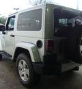 jeep wrangler 2011 silver suv sahara gasoline 6 cylinders 4 wheel drive automatic 33157