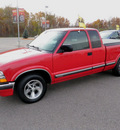 chevrolet s 10 2001 red pickup truck ext ls gasoline 6 cylinders rear wheel drive automatic 56001