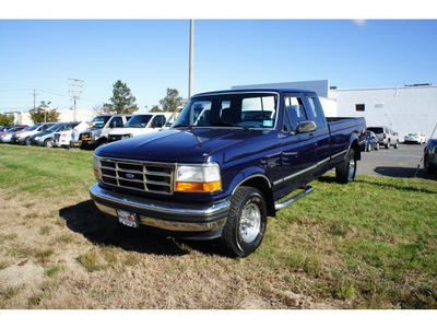 ford f 150 1994 blue xlt gasoline v8 4 wheel drive automatic with overdrive 07712