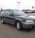 subaru legacy 1999 deep sapphire wagon outback gasoline 4 cylinders all whee drive 5 speed manual 80911