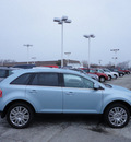 ford edge 2008 light ice blue suv limited awd gasoline 6 cylinders all whee drive automatic with overdrive 60546