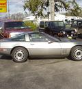chevrolet corvette 1984 gray coupe z51 gasoline v8 rear wheel drive automatic 43560