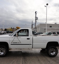 dodge 2500 ram 1999 white pickup truck slt laramie 4x4 gasoline v8 4 wheel drive automatic with overdrive 60546