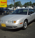 saturn s series 2000 silver sedan sl2 gasoline 4 cylinders front wheel drive automatic 43560