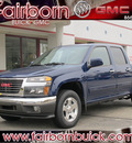 gmc canyon 2012 blue sle 1 gasoline 4 cylinders 2 wheel drive automatic 45324