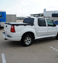 ford explorer sport trac 2005 white suv xlt flex fuel 6 cylinders rear wheel drive automatic with overdrive 76108