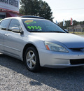honda accord 2004 silver sedan ex w leather gasoline 4 cylinders front wheel drive automatic 27569