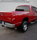 dodge ram pickup 1500 2007 red slt 4x4 hemi gasoline 8 cylinders 4 wheel drive automatic with overdrive 98371