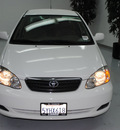 toyota corolla 2007 white sedan le gasoline 4 cylinders front wheel drive automatic 91731