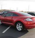 mitsubishi eclipse 2009 red coupe gs gasoline 4 cylinders front wheel drive automatic 46410