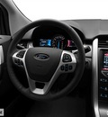 ford edge 2012 black suv se gasoline 6 cylinders front wheel drive shiftable automatic 46168