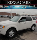 ford escape 2012 white suv xlt gasoline 4 cylinders front wheel drive automatic with overdrive 60546